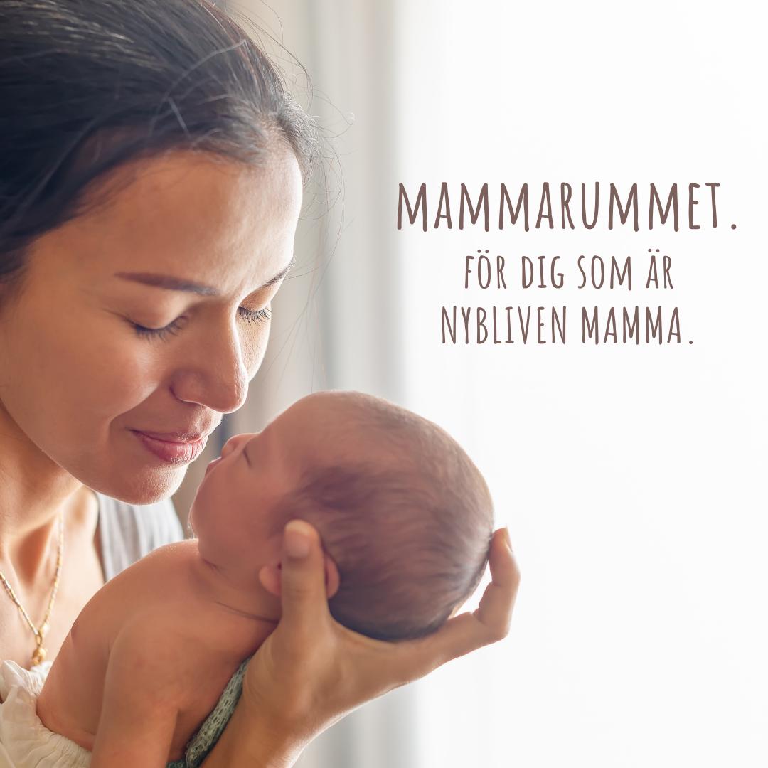 Online-grupp för nyblivna mammor